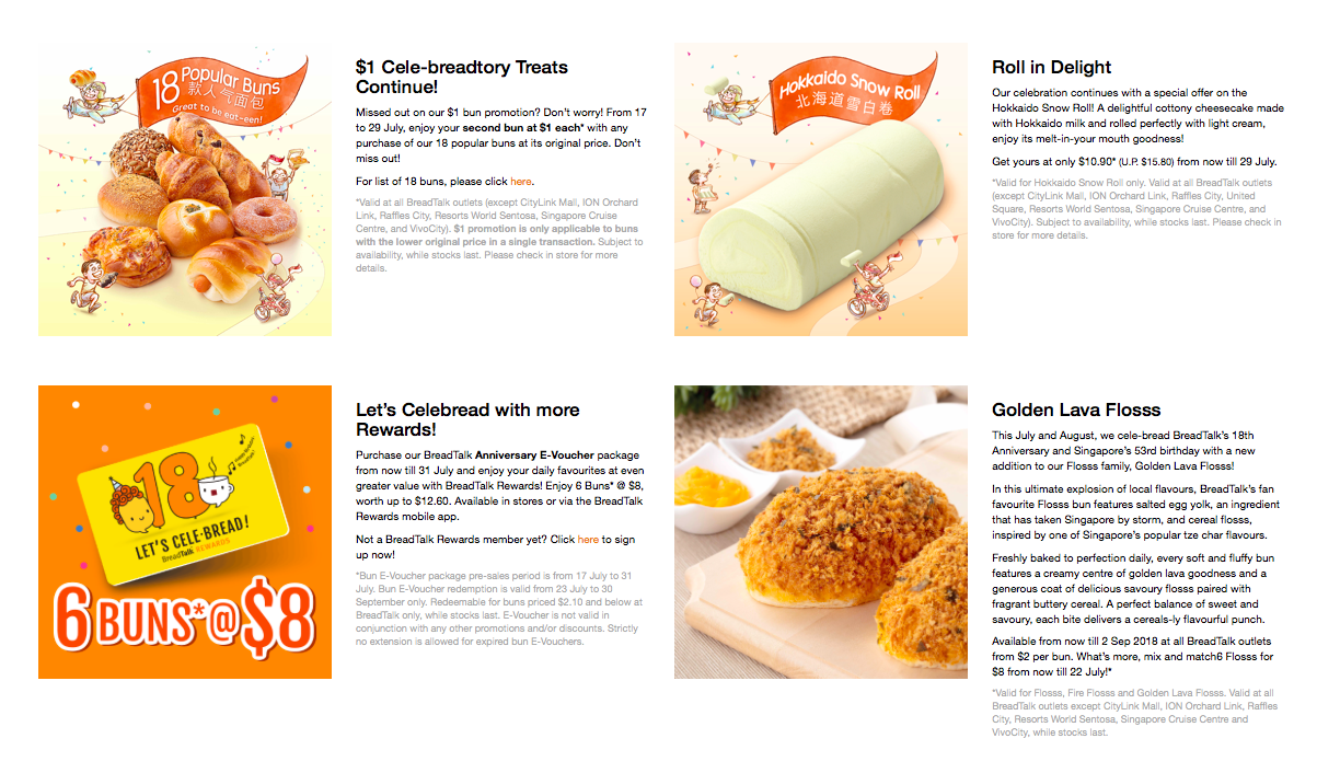 BreadTalk - Promotional Menu Pg1 - TREAT