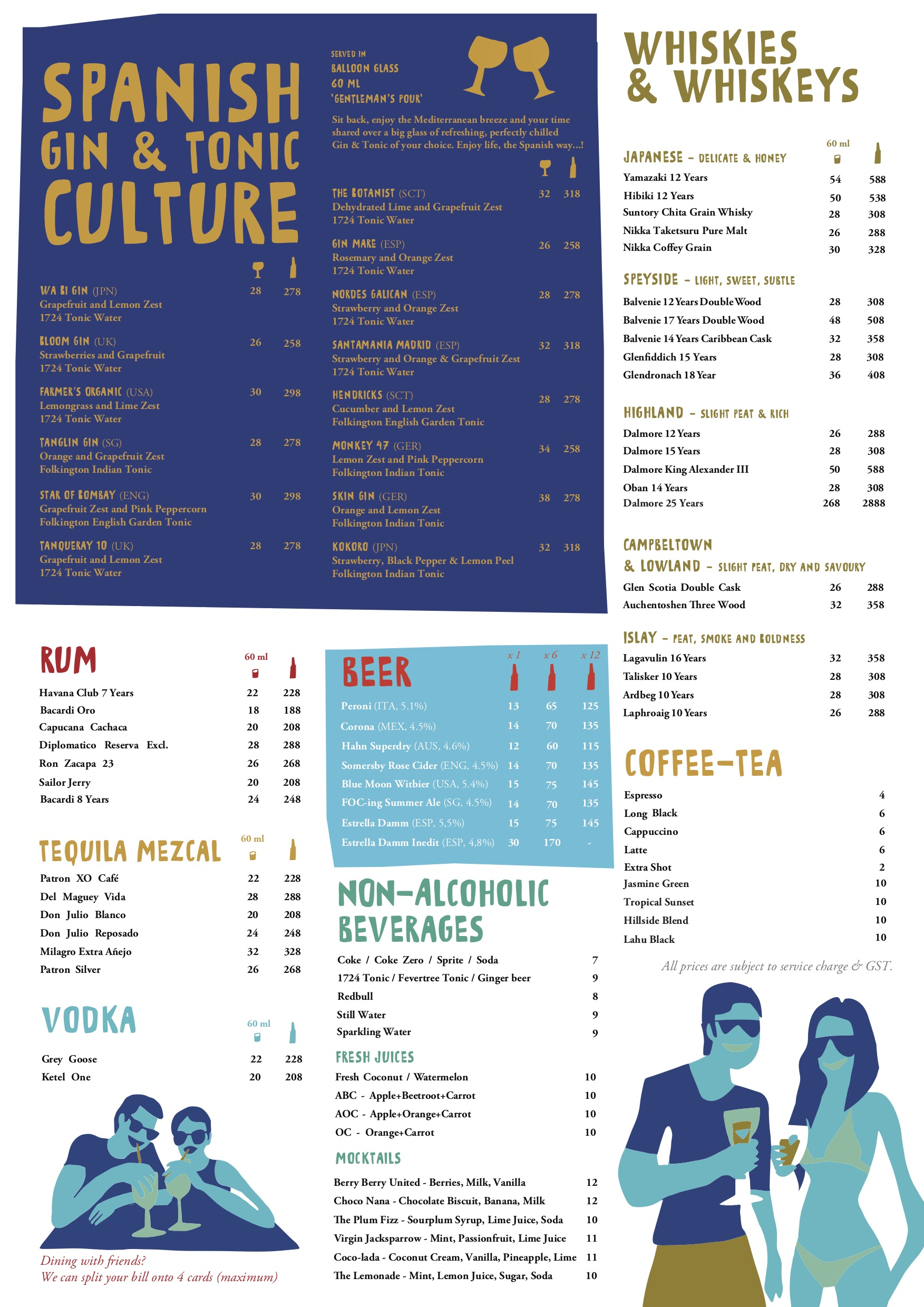 FOC Sentosa Beverage Menu Pg1 - TREAT