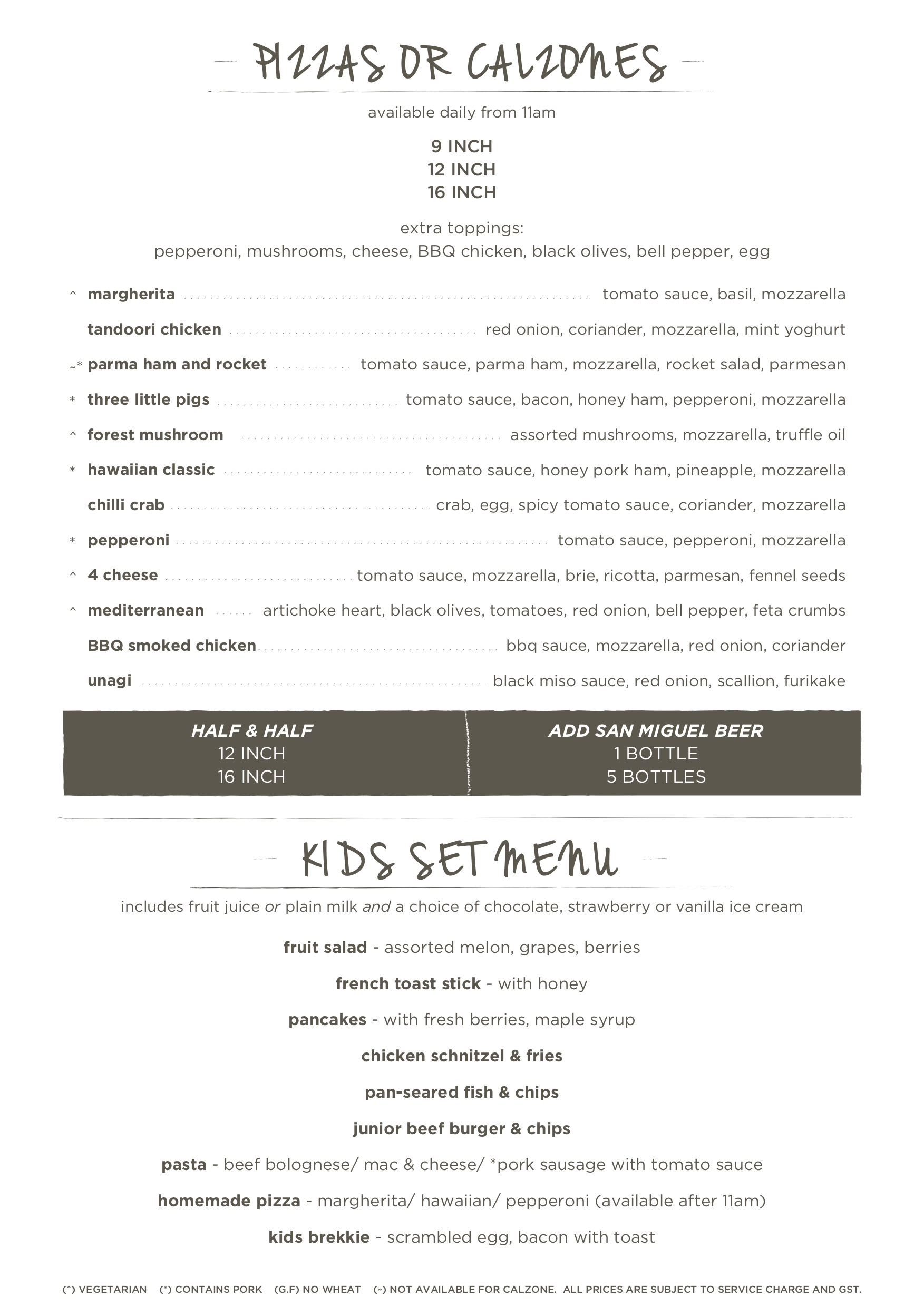 Cafe Melba @ Mediapolis - Menu Pg2 - TREAT