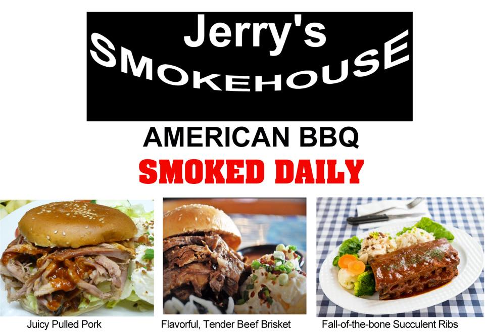 Jerry's Barbeque & Grill - Promotional Menu2 - TREAT