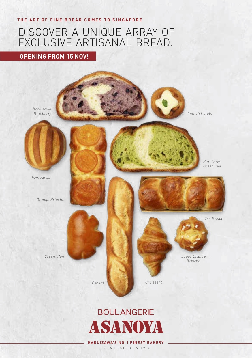 Asanoya Boulangerie - Menu Pg1 - TREAT